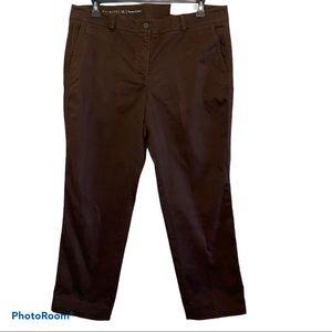 Talbots Perfect Chino Straight Leg 16